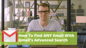 how to use gmail advanced search