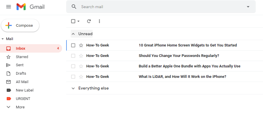 6 HowTo Geek gmail label