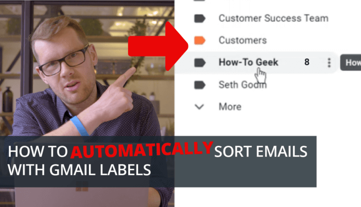 How To Automatically Sort Emails with Gmail Labels