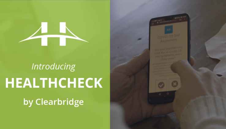 HealthCheck by Clearbridge COVID-19 Screening Tool App For Businesses Free